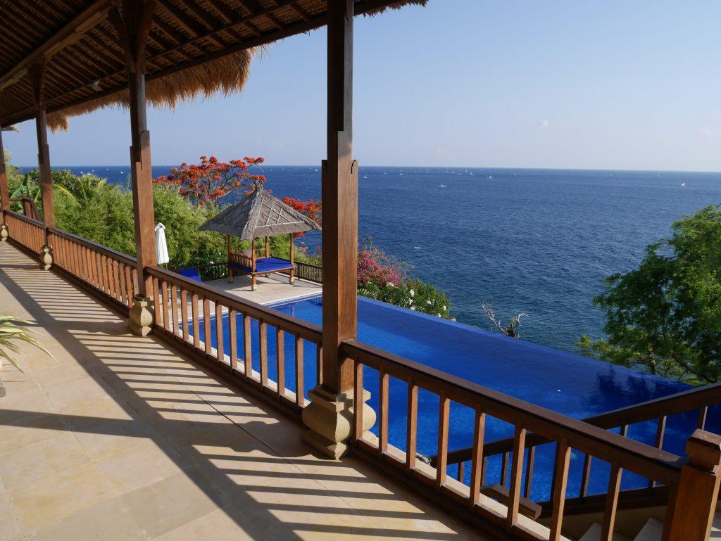 Villa Celagi Balcony View